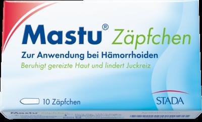 Mastu Zaepfchen (PZN 06835421)