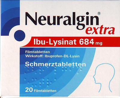 Neuralgin extra Ibu-Lysinat (PZN 09042974)