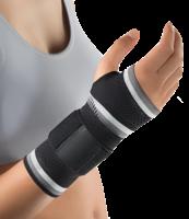 Bort ManuBasic Bandage rechts large schwarz (PZN 02759427)