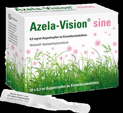Azela-vision Sine 0,5 Mg/ml Augentr.i.einzeldosis. (PZN 02498286)