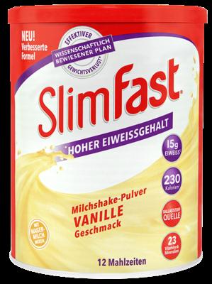 SlimFast Milchshake-Pulver Vanille (PZN 11280735)