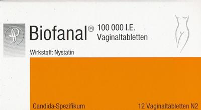 Biofanal Vaginal (PZN 01866575)