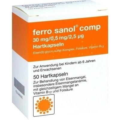 Ferro Sanol comp. Hartkaps.m.msr.überz.Pellets (PZN 04869580)