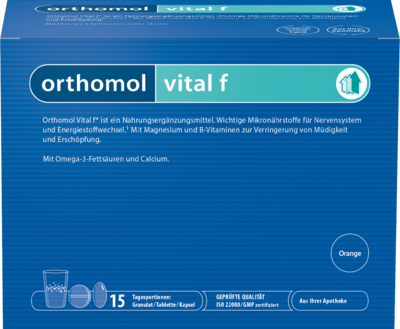 Orthomol Vital F 15 Granulat &  Orange (PZN 01319637)
