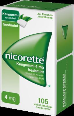 Nicorette 4 Mg Freshmint (PZN 03643454)