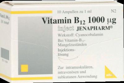 Vitamin B 12 1000 Myg Inject Jenapharm (PZN 07146994)