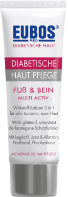 Eubos Diabetische HAUT PFLEGE Fuß+Bein (PZN 01617412)