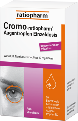 Cromo Ratiopharm Augentropfen Einzeldosis (PZN 04884527)