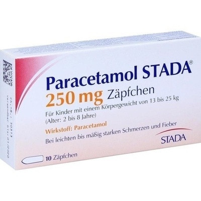 Paracetamol Stada 250 Kleinkdr.suppos. (PZN 03798435)