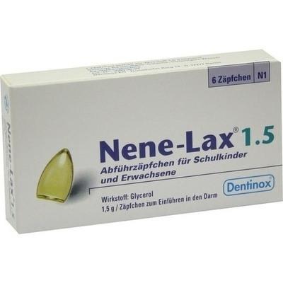 Nene Lax 1,5 Suppos.f.schulkdr.u.erw. (PZN 07216625)