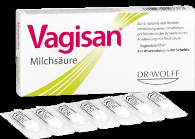 Vagisan Milchsaeure Vaginalzaepfchen (PZN 00003441)
