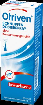 Otriven 0,1% Dosierspray ohne Konservierungsstoffe (PZN 08444541)