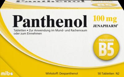 Panthenol 100 mg Jenapharm (PZN 06150829)