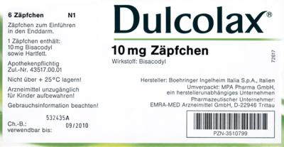 Dulcolax (PZN 07291555)