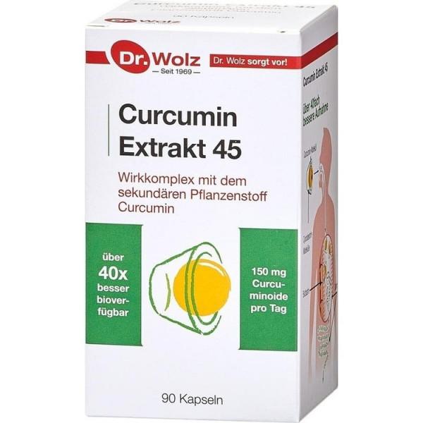 Curcumin Extrakt45 Dr Wolz (PZN 10793390)