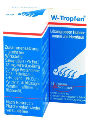 W-tropfen Loesung Gegen Huehneraugen+hornhaut (PZN 04347462)