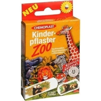 Kinderpflaster Zoo 2 Groessen (PZN 00610709)