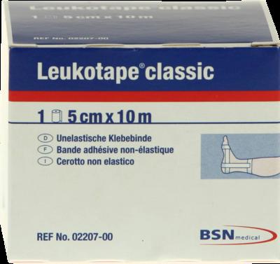 Leukotape Classic 10mx5cm Weiss (PZN 00499732)