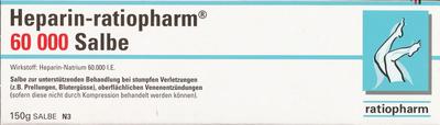 Heparin Ratiopharm 60 000 (PZN 06968702)