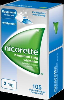 Nicorette Kaugummi 2 Mg Whitemint (PZN 07353612)