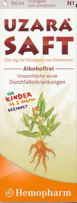 Uzara Saft Alkoholfrei (PZN 08911557)