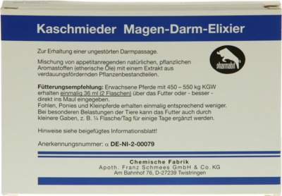 Kaschmieder Magen Darm Vet. (PZN 04073059)