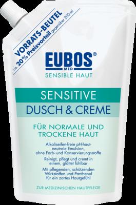 Eubos Sensitive Dusch und Creme Nachfüll (PZN 06608553)