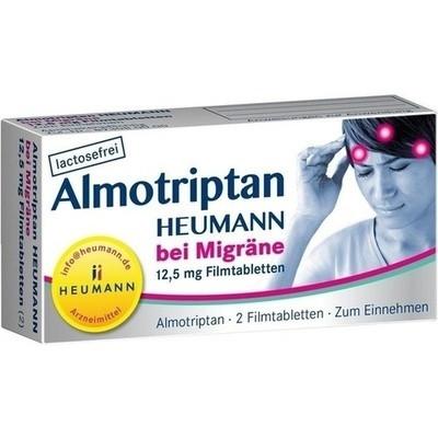 Almotriptan Heumann bei Migräne 12,5 mg 2 (PZN 10750044)