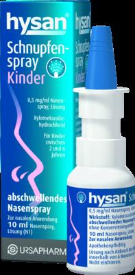 Hysan Schnupfenspray Kinder (PZN 07772852)