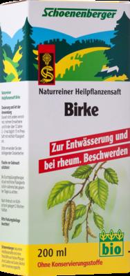 Birkensaft Schoenenberger (PZN 00692073)