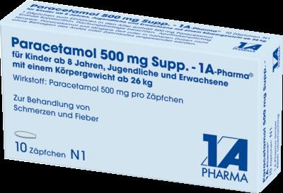 Paracetamol 500 mg 1A Pharma (PZN 04478193)