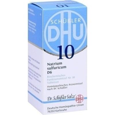 Biochemie 10 Natrium Sulfuricum D 6 Tabl. (PZN 00274654)
