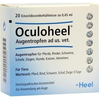 Oculoheel Augentropfen ad us.vet.Einzeldosispip. (PZN 06559470)
