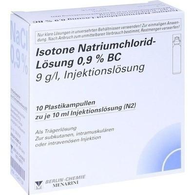 Isotone NaCl Lösung 0,9% BC Plast.Amp.Inj.-Lsg. (PZN 10407139)