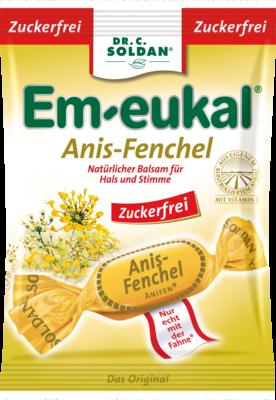 Em Eukal Bonbons Anis Fenchel, Zuckerfrei (PZN 03166505)
