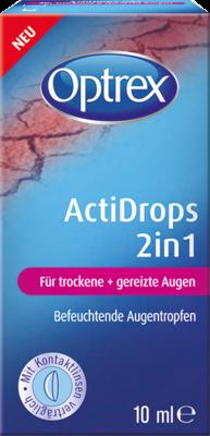 Optrex Actidrops 2in1 F.trockene+gereizte Augen (PZN 10822246)