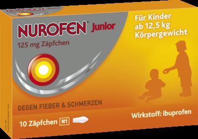 Nurofen Junior 125 Mg Zaepfchen (PZN 04660785)