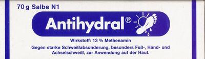 Antihydral Salbe (PZN 00052729)