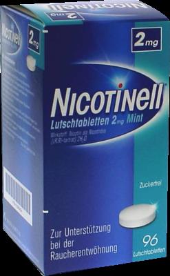 Nicotinell Lutschtabletten 2 Mg Mint (PZN 07006454)