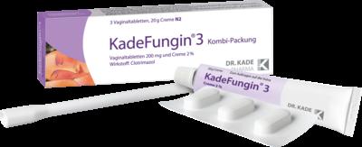 Kadefungin 3 Kombip.20 g Creme+3vaginal (PZN 03766139)