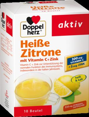 Doppelherz Heiße Zitrone Vitamin C + Zink (PZN 07091098)