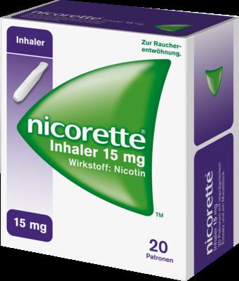 Nicorette Inhaler 15mg (PZN 09267911)