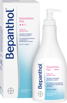 Bepanthol Koerperlotion Plus Spender (PZN 02293561)
