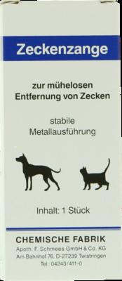 Zeckenzange Aus Metall (PZN 00572593)