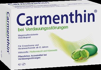 Carmenthin bei Verdauungsstörungen msr.Weichkaps. (PZN 10327618)