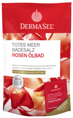 Dermasel Totes Meer Badesalz+rose Spa (PZN 07388639)