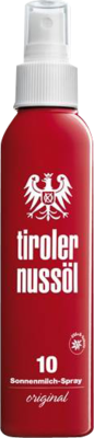 Tiroler Nussöl Orig.sonnenmilch Spray Lsf 10 (PZN 05960302)