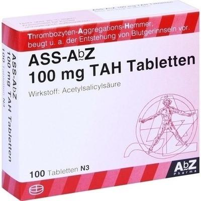 ASS-AbZ 100 mg TAH (PZN 11481830)