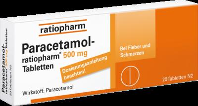 Paracetamol ratiopharm 500 mg (PZN 01126111)