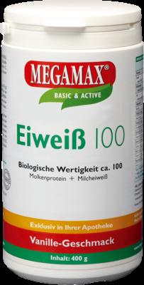 Eiweiss 100 Vanille Megamax (PZN 07378150)